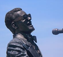 Ray Charles Statue - Ray Charles Planza, Albany Ga by GaZoomIn