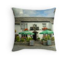 The Kings Arms,Hawkshead Throw Pillow