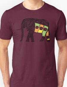 African Elephant Sketch Unisex T-Shirt