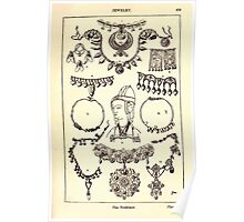 A Handbook Of Ornament With Three Hundred Plates Franz Sales Meyer 1896 0505 Jewelry Necklace Poster