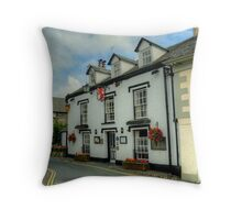 The Red Lion,Hawkshead Throw Pillow