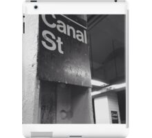 Canal St. Train Station iPad Case/Skin