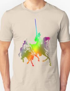 Psychedelic Don Quixote and Sancho Panza T-Shirt