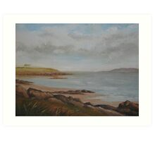 Portrane Coastline Art Print