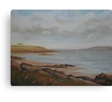 Portrane Coastline Canvas Print