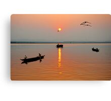 The Golden Morning Canvas Print