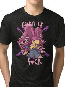 Mega Mawile Tri-blend T-Shirt