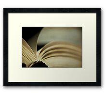 the novel Framed Print