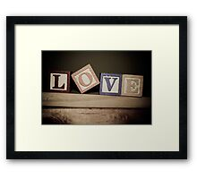 All you need is... Framed Print