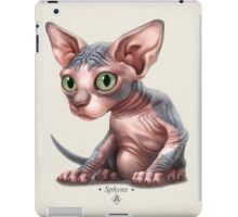 Cat-a-clysm: Sphynx kitten - Classic iPad Case/Skin