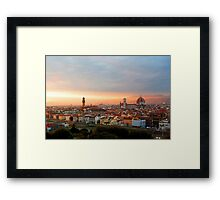 Lost in Florence Framed Print