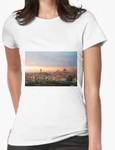 Lost in Florence Womens Fitted T-Shirt