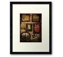 Chambers Of My Heart Framed Print