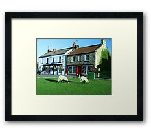 Aidensfield - Heartbeat TV Show (Goathland) Yorkshire Framed Print