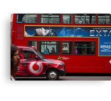 Oxford Street Transport Canvas Print