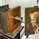 Studio Camera and Jobyna Portrait by © Joe  Beasley IPA