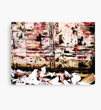 """Paper flesh"" Canvas Print"