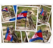 Chippy Represents Cambodia Poster