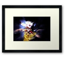 Motion Dancer #1 - Leaving earth Framed Print