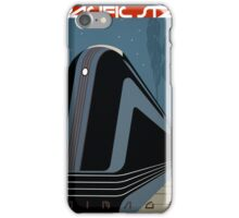 Pacific Star Vintage Railroad Travel Poster Restored iPhone Case/Skin