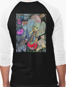 Dumb Elephant Tricks Men's Baseball ¾ T-Shirt