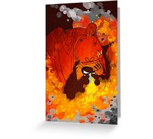 Firestorm Greeting Card