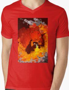 Firestorm Mens V-Neck T-Shirt