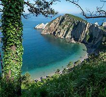 Playa del Silencio - the Beach of Silence by Chris Allen
