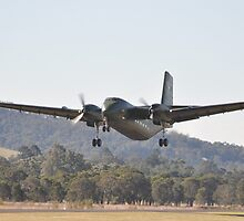 Hunter Valley Airshow 2015 Airshow - Caribou Take-off by muz2142