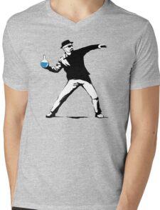 The Breaker Mens V-Neck T-Shirt
