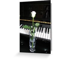 Beauty in Monochrome Greeting Card