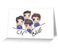 CNBLUE ~ The Star magazine Greeting Card