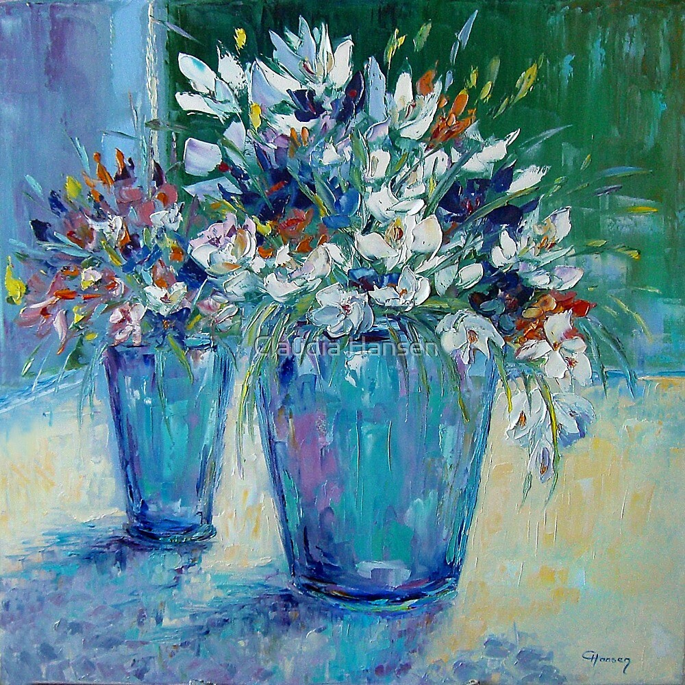 Spring Flowers by Claudia Hansen