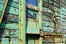 Green rusting & flaking trailer by buttonpresser