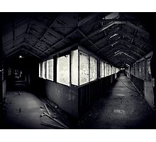 I Came To a Fork in The Road ~ West Park Asylum Photographic Print