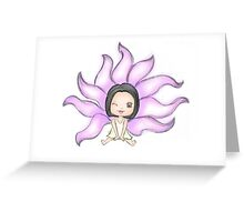 My girlfriend is a Gumiho [from the KDrama...] Greeting Card