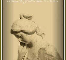 Praying Woman Statue by Marie Sharp