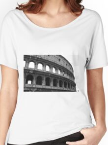 Before entering the Colosseum Women's Relaxed Fit T-Shirt