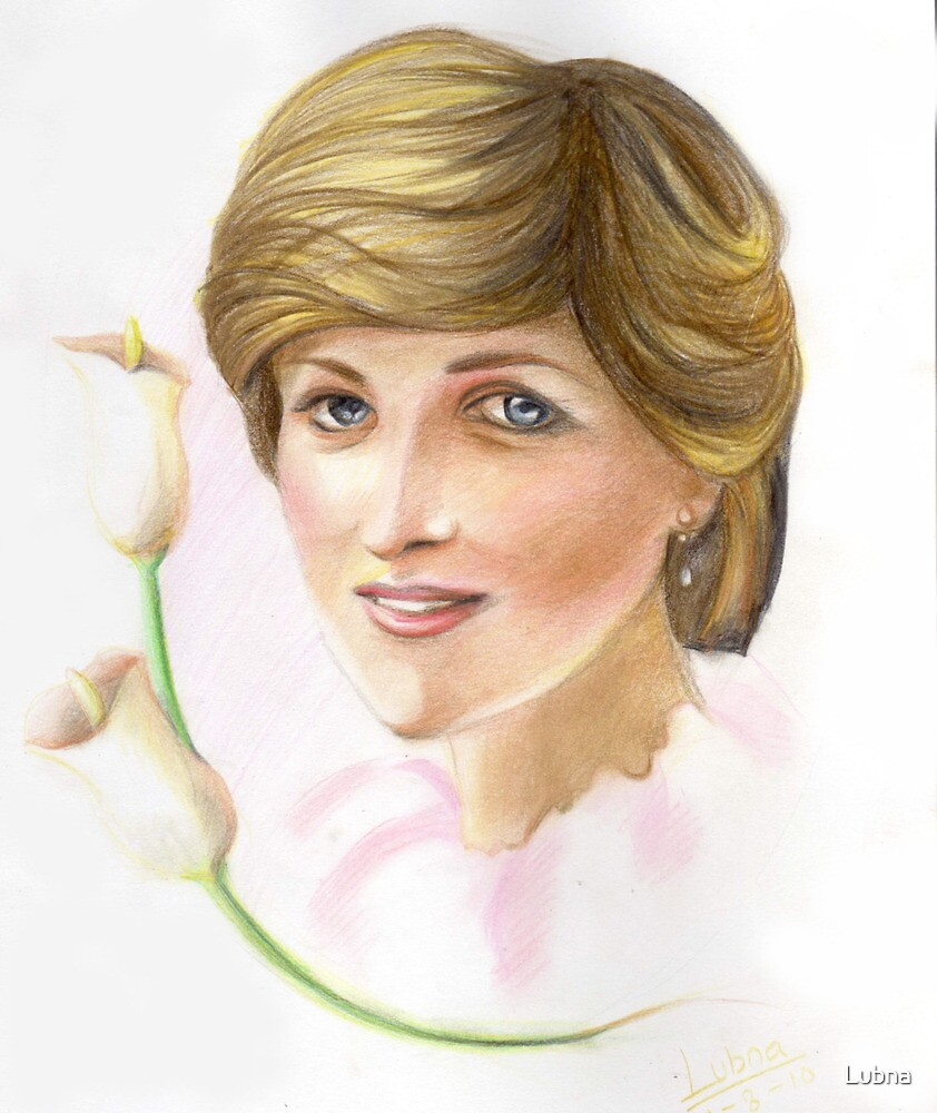 Lady Diana: first of three series by Lubna