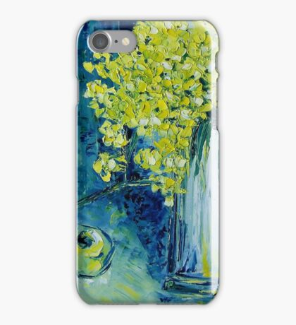 Still life with green Apple iPhone Case/Skin