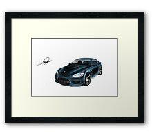BMW Omar Edition Framed Print
