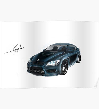 BMW Omar Edition Poster