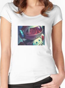 Retro Robot Women's Fitted Scoop T-Shirt