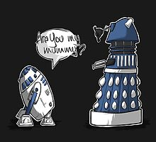 Are you my mummy? - BLUE version by ArryDesign