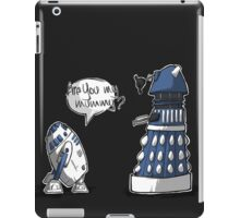 Are you my mummy? - BLUE version iPad Case/Skin