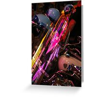 Midnight Abstract Greeting Card