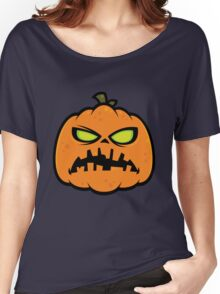 Pumpkin Zombie Women's Relaxed Fit T-Shirt