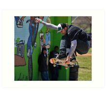 Skateboard Competition Art Print