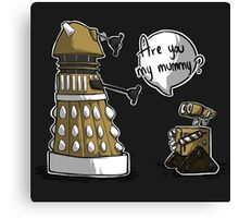 Are you my mummy? - GOLD version Canvas Print