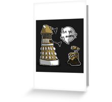 Are you my mummy? - GOLD version Greeting Card
